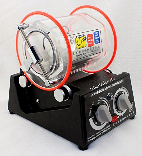 Kugelmühle KM1000 Pro / Trowalisiermaschine / Poliertrommel 1,0l