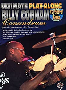 Ultimate Play-Along Billy Cobham Conundrum: Keyboard Trax. Partitions, CD pour Clavier