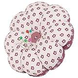 neoviva Stoff beschichtet Nadelkissen mit Handgelenk Band für Naht, Stil Kürbis Polka Dots Dry Rose