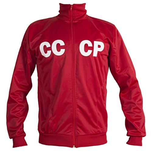 JL SPORT Soviet Union CCCP USSR 1970\'s Retro Fußball Jacke Classic Vintage Trainingsanzug Männer Top-Replik