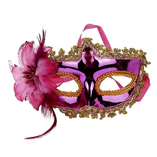 Damen Party Maske, CICIYONER Halloween Kostüm Venezianische Maskerade Prom Maske (Für Arbeit Halloween Einfache Und Schnelle Kostüme)