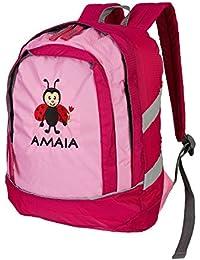 Preisvergleich für Wolimbo Kinderrucksack mit Namen und Wunsch Motiv Rucksack für Kindergarten KITA KIGA