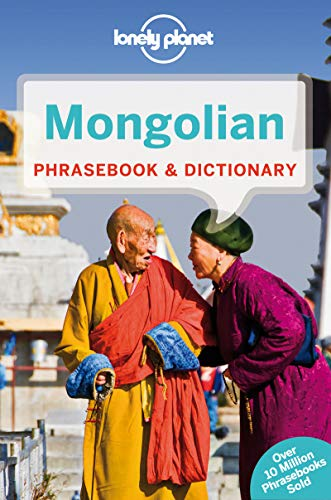 Mongolian Phrasebook & Dictionary 3ed - Anglais