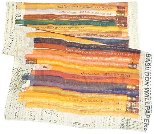 Blaumax - Digital Pencils - Châle Femme Multicolore (yellow combo 1007)