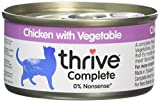 thrive Chicken with Vegetable Complete Cat Food, Pack of 6