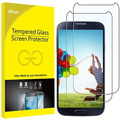 JETech Schutzfolie kompatibel für Galaxy S4, Panzerglas Gehärtetem Glas Bildschirmschutzfolie, 2 Stück