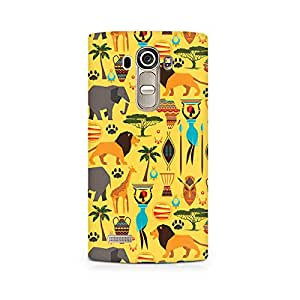 TAZindia Printed Hard Back Case Cover For LG G4