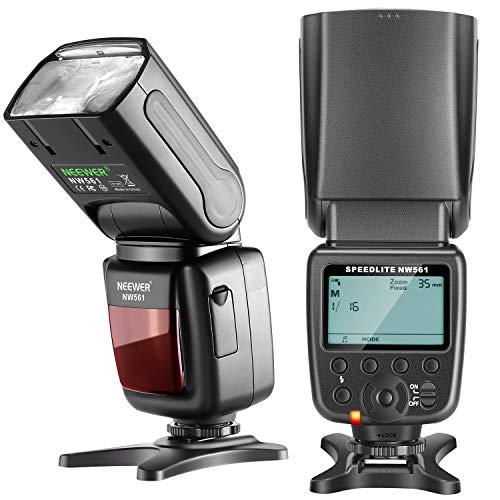 Neewer NW561 LCD Display Flash Speedlite per Canon Nikon Panasonic Olympus Pentax Fijifilm e Sony con Mi Hot Shoe DSLR e Mirrorless Fotocamere con