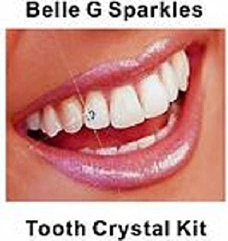 Belle G 20 pieces Clear Swarovski Tooth Gems Kit