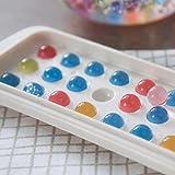 Bonkkara 3D Cube Shapetray stampo per ghiaccio pudding Jelly Chocolate Mold food grade silicone colorato Ice Ball Easy Release