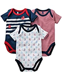 c4f080e7f7da I Bears Half Sleeves Onesies Set Pack of 3, 0-3 Months | 3-6 Months | 6-9  Months | Baby Clothes | Baby Boys/Baby…