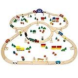 130-teiliges Eisenbahn-Set