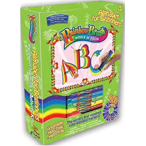 Arcobaleno spazzola alfabeto principianti attività Set Plus 10Set Penna