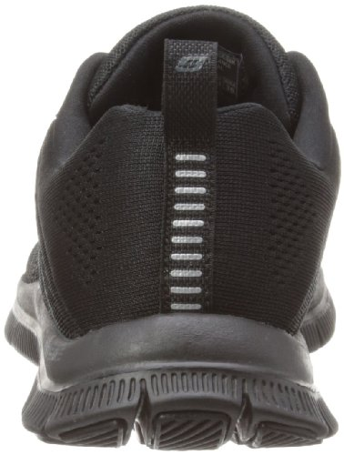 Skechers Flex Appeal sweet Spot, Sneakers Basses Femme Noir (Black)