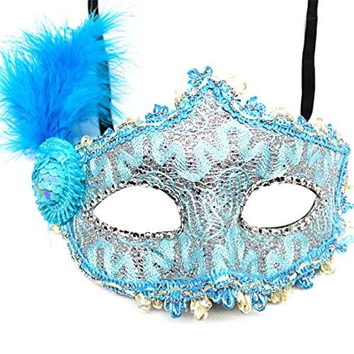 Tree-on-Life Halloween Maskerade Sexy Lady Black Lace Augenmaske Catwoman Schleier Maskerade Party (White Lady Kostüm Für Halloween)