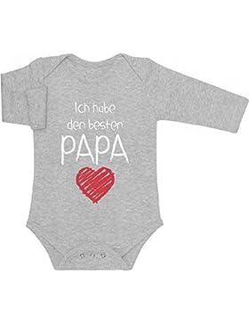 Ich habe den besten PAPA - Geschenk für Vater Baby Langarm Body