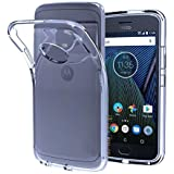 Soft Silicone TPU Transparent Clear Case Soft Back Case Cover For Motorola Moto Z2 Play BY Dellmore™
