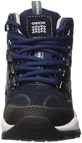 Geox J Orizont Boy Abx B, Baskets hautes  Garçon Blau (NAVY/GREYC0661)
