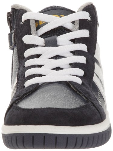 Geox J Hero D Jungen Sneaker Blau - Bleu (Navy/Yellow)