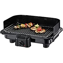 SEVERIN Gril Barbecue, Gril de table, Surface du Gril (41x26cm), 2.500W, PG 2791, Noir (Certifié Reconditionné)