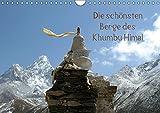 Die schönsten Berge des Khumbu Himal (Wandkalender 2019 DIN A4 quer): Khumbu oder Khumbu Himal ist eine Region des Himalaya im Nordosten Nepals an der ... (Monatskalender, 14 Seiten ) (CALVENDO Orte)