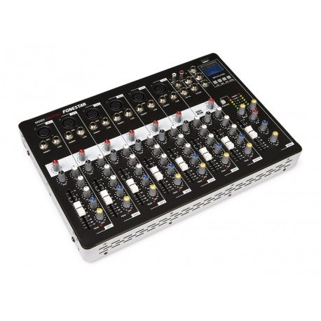 Fonestar SM-2702U - Mezclador USB/MP3