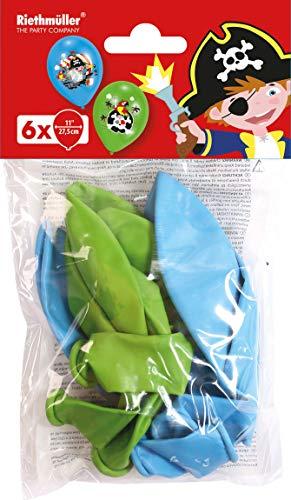 amscan 9902174 6 Latexballons Pirat, - Weihnachts Kostüm Party Thema Ideen