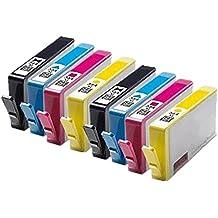 8 Compatible 364XL Ink Cartridges For HP Photosmart Printer 3108 3210 3310 8200 8230 8238 8250 8253 C3110 C5100 C5140 C5150 C5175 C5180 C5183 C51655 C5190 C6100 C6150 C6175 C6180 C6183 C6185 C61655 C6200 C6240 C6250 C6280 C6283 C62655 C7100 C7180 C7183 C7185 C7200 C7250 C7275 C7280 C7283 C72655 C8100 C8180 C8183 D6160 D6163 D6168 D7100 D7155 D7160 D7163 D7168 D7200 D7260 D7263 D7300 D7345 D7355 D7360 D7368 D7460 D7463 P3210 Deskjet 3070A 3520 Officejet 4610 4620 4622