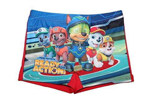Nickelodeon Paw Patrol Jungen Badehose (Rot, ()