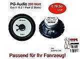 PG Audio EVO II 16.2, 16 cm Coax Lautsprecher, 1 Paar, Neu-Ware