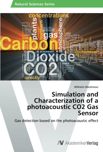Simulation and Characterization of a photoacoustic CO2 Gas Sensor: Gas detection based on the photoacoustic effect -