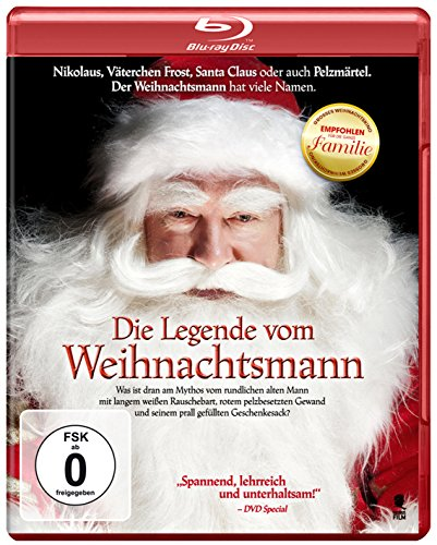 Die Legende vom Weihnachtsmann [Blu-ray] (Die Legende Vom Weihnachtsbaum)