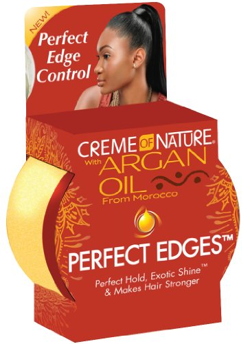 Cream of Nature Argan Oil Perfect Edges 2.5 oz. (Pack of 2) by Creme of Nature