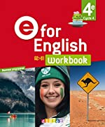 E for English 4e (éd. 2017) - Workbook -version papier de Karine Letellier