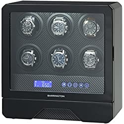 Barrington luxury 6 winder watch winder