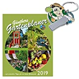 Günthers Gartenplaner 2019 Garten Kalender inkl. Schlüsselanhänger Gärtner