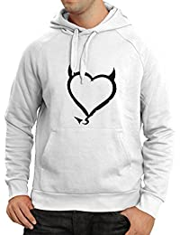 N4013H sudadera con capucha Devil heart Funny Gift Colors/Sizes