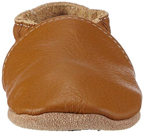 Hobea Germany  Lauflernschuhe unifarben, Chaussures et chaussures pour bébé mixte bébé Marron - Brun (nougat)