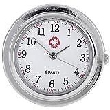 JSDDE Schwesternuhr Silikon Hülle Nurseoclock Krankenschwesteruhr infektionshemmende Silikonhüllen ohne Uhr(Quarzuhr)