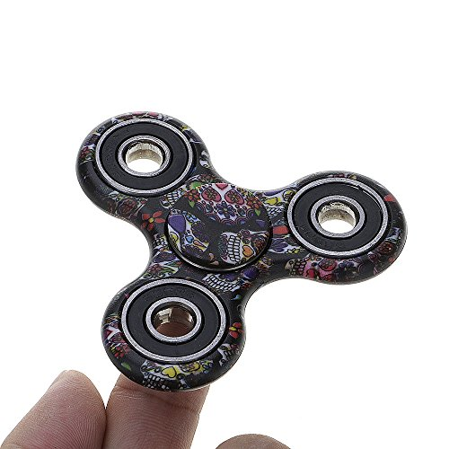 GGG-spinner-camuflaje-ADHD-ansiedad-Autismo-Reductor-de-estrs-Fidget-mano-Tri-Spinner-EDC-regalo-de-juguete-color-azar