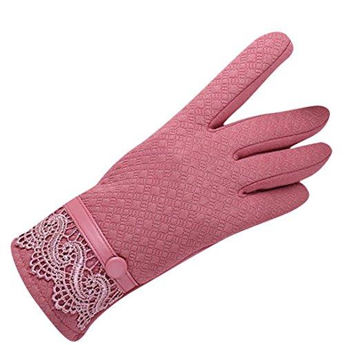 Minshao Mode Frauen Winter Outdoor Sport Warme Handschuhe (PK)