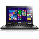 Lenovo YOGA 500 39,6 cm (15,6 Zoll Full HD IPS Matt) Convertible Notebook (Intel Pentium 3805U, 1,9GHz, 4GB RAM, 128GB SSD, Intel HD Grafik, Touchscreen, Windows 8.1) schwarz