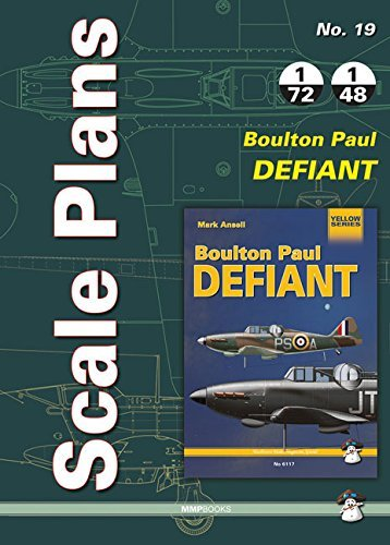 Scale Plans No. 19 Boulton Paul Defiant by Dariusz Karnas (Illustrator) (5-Feb-2015) Paperback