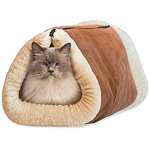 SF Net Trading 2 in 1 Tubo Cat Bed Dog Pet Mat Accessori Gatto Mat e letto morbido Inverno Caldo Regalo