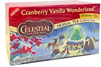 CELESTIAL SEASONINGS TEA CRNBRY VNLA, 20 BG