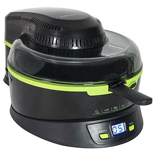 Freidora sin aceite multifunción dietética, con pala mezcladora automática y hasta 2 niveles de cocción. Cecofry de Cecotec.
