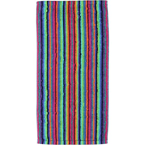 Cawö Duschtuch Lifestyle Streifen 7048 multicolor - 84 Größe 70 x 140