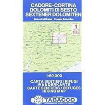 CADORE/CORTINA/DOLOMITI DI SESTO 1  1/50.000