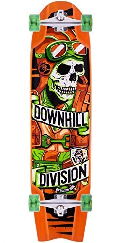 Sector 9 Bomber Downhill Division Complete Longboard Skateboard W/ Caliber Trucks, Abec11 Wheels by Sector 9