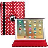 iPad Pro 9.7 Funda, Avril Tian 360 Grados Rotación Multi ángulos Protector de Pantalla Flip Magnético Inteligente Case Cover para Apple iPad Pro 9.7 pulgada Tableta